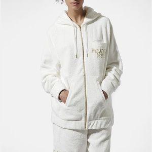 ASHISH x Topshop Paradise Hotel Toweling Hoodie